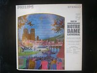 LP Album 1963, 800th Anniversary NOTRE DAME Cathedral