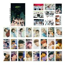 32pcs set Kpop GOT7 Mark Personal PhotoCard Picture Poster Lomo newest NgDSq