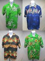 New Hawaiian Surf Board Pineapple Hibiscus Flowers Mens Size S-M-L-XL Shirt