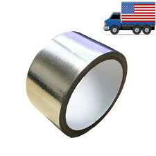 "2"" 15FT Silver Intake Heat Reflective Tape Wrap Self-adhesive High Temperature"