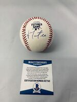 JORGE MATEO OAKLAND ATHLETICS SIGNED 2019 FUTURES GAME BASEBALL AUTO+BECKETT COA