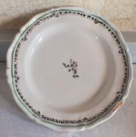 Plate Faience 18 Th Bordeaux