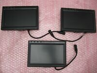 "LOT OF 3 MARSHALL ELECTRONICS V-ASL-7070 7"" TFT LCD MONITORS VIDEO TESTING ETC"