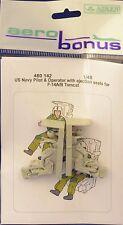AEROBONUS 480142 1/48 Resina US PILOTO & Operador Eyección Asientos f-14 Tomcat
