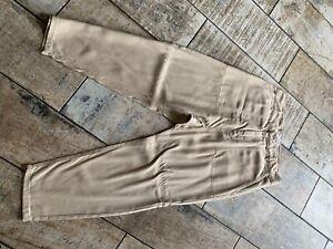 Zara Drop Crotch Utility Trouser