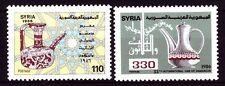Syrien Syria 1986 ** Mi.1661/62 Messe fair Damaskus Kanne Can Geschirr dishes