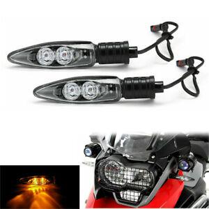 2pcs LED Turn Signal Indicator Lights For BMW S1000RR R1200GS F800GS R1200R
