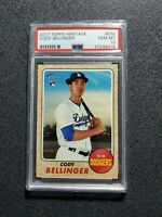 CODY BELLINGER 2017 TOPPS HERITAGE  RC ROOKIE DODGERS  PSA 10 GEM MINT WOW!🔥