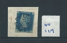 wbc. -  GB - QUEEN VICTORIA -  QV129 - TWO PENNY BLUE - ON PIECE