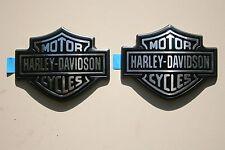 OEM Harley Fuel Tank Emblems Badges Dyna Sportster Softail Street Slim Glide FLS