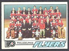 1977 78 OPC O PEE CHEE 83 PHILADELPHIA FLYERS TEAM EX-NM UNMARKED HOCKEY CARD