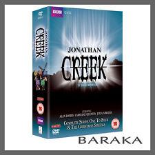 Jonathan Creek Complete Series 1, 2, 3 & 4 & The Christmas Specials DVD Box Set