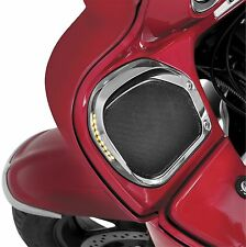 Show Chrome LED Turn Signal Speaker Grill Set  71-203*
