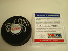 Daniel Alfredsson Signed Detroit Red Wings Hockey Puck PSA/DNA Autographed a