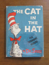 THE CAT IN THE HAT by Dr. Seuss 195/195  - 1st/ 3rd state jacket 1957 HCDJ