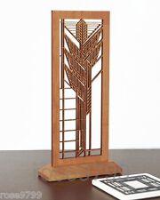 Frank Lloyd Wright Dana Sumac Tabletop Decor Hardwood Mini Screen WLAC01