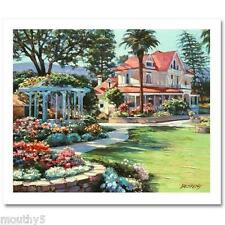 """HOWARD BEHRENS """"NAPA VALLEY """"S/N  NEW HAND EMBELLISHED GICLEE ON CANVAS Last one"""