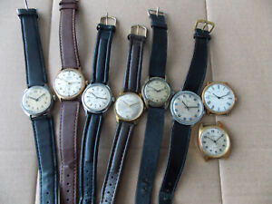 Vintage mechanical watches,working.
