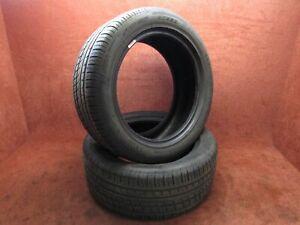 2x Sommerreifen reifen Pirelli Pzero Rosso 225/50 ZR17 94W DOT 1513 Profil 4,5mm
