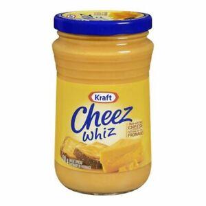 3 X Kraft Cheez Whiz Original LARGE Size 450g/ 16oz- From Canada FRESH!