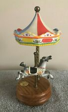 """Art Limited Edition Carousel Series #827 / 9000 """"Memory"""" Circus Top With Horse"""