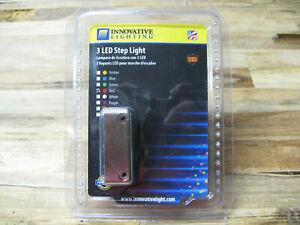 Innovative Lighting 003-4200-7 3 LED Step Light Surface Mount Chrome 9-12 Volt