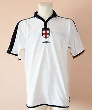2003 - 2005 ENGLAND, HOME REVERSIBLE JERSEY BY UMBRO, MENS LARGE - XL