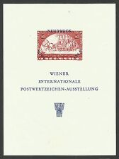 AUSTRIA, WIPA 1965, SPECIMEN MINI SHEET, YEAR 1964, MNH