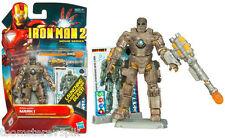Iron Man 2 Movie Series Iron Man Mark 1 Launching Flamethrower Blast Armor Cards