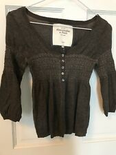 Abercrombie & Fitch Stretch Cashmere/wool Blend Cardigan XS