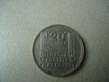 Pièce 20 francs 1933 en l'état