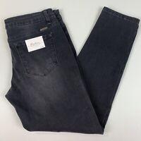 Kancan Womens Estilo Jeans Black Skinny Distressed Stretch NWT Size 11/29