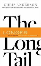 THE LONG TAIL by Chris Anderson FREE SHIPPING paperback book business sales