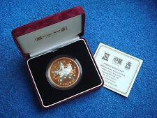 Gibraltar, 2 Crowns, 2003, Euro's first Anniversary, Bi-metal, Proof, Rare, #2