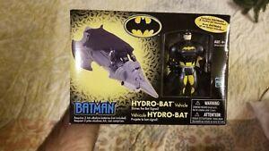 B3 Batman Hydro-Bat vehicle w/ Batman figure- New in box- 2002, Hasbro