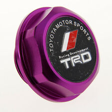 NEW JDM PURPLE TRD Engine Oil Filler Cap Billet Aluminum COROLLA TC XA XB CAMRY