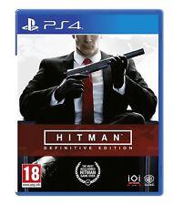 Nuevo Y Sellado! Hitman edición definitiva Sony Playstation 4 PS4 Juego