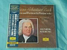 Sealed Japan Classical 2 CD: Szeryng - Bach - 6 Sonaten & Partiten Fur Violine