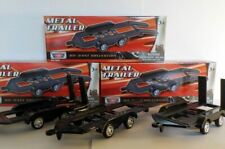 Model Cars. 1/43 CAR TRAILER x3, DIORAMA, RACE RALLY, LAND ROVER.