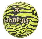 Gilbert Glam Green Zebra Netball (Size 4)