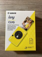 Canon Ivy CLIQ Instant Camera Printer Bumblebee Yellow Mini Photo Printer NEW
