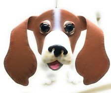 Georgetown Bassett Hound Planter Outdoor Dog Flowers Plants Metal Stand Alone