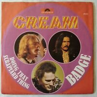 "THE CREAM⚠️Unplayed⚠️7""Original-1969-Badge/Doing that scrapyard... Polydor 59272"