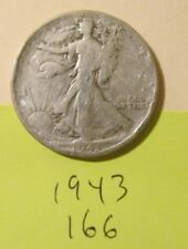 H166H1018 - Silver Walking Liberty Half Dollar 1943   - Free Shipping
