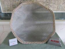 """Alessi Korb-, Schale Edelstahlnetz mit Naturfasern """"Peneira collection"""", FC22/40"""
