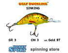 ARTIFICIALE UGLY DUCKLING N° 3S col. GOLD BT SINKING GR 3