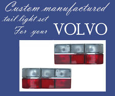 VOLVO 240 85-93 TAIL LIGHT TAILLIGHT LAMP Set. Clear Signal and Fog Light Lenses