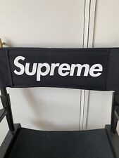Supreme Directors Chair 100% Authentic Box Logo