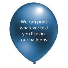 25 BIRTHDAY,WEDDING,ANNIVERSARY,CHRISTENING PERSONALISED Helium Quality Latex