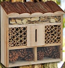 Large or Compact Insect Hotel Bee House/Nesting Box and Nesting Aid